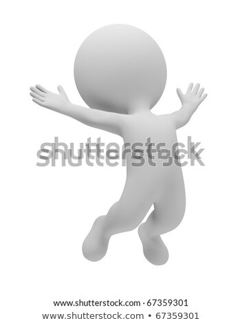 3d small people - win Stock photo © AnatolyM