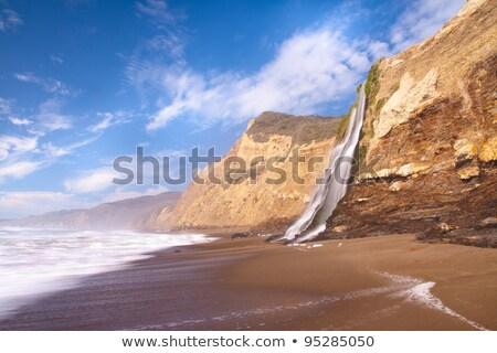 pont · tengerpart · San · Francisco · Kalifornia · USA · felhők - stock fotó © dirkr