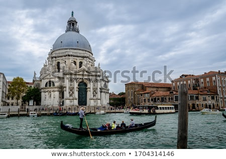 Canal basílica Venecia Italia cielo Foto stock © OleksandrO