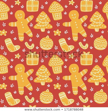 ストックフォト: 自家製 · クリスマス · クッキー · ヴィンテージ · スタイル · 時間