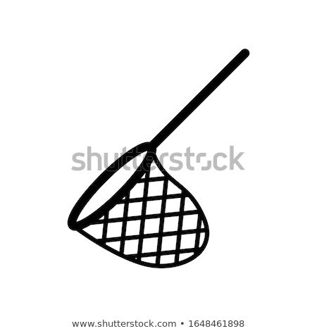 Pillangó net ikon sablon terv természet Stock fotó © angelp