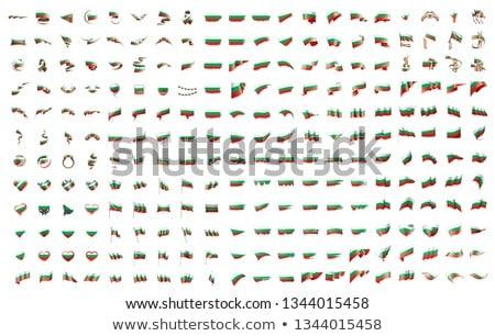 большой коллекция вектора флагами Болгария стороны Сток-фото © butenkow