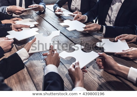 Business Cooperation Solution Stock photo © Lightsource