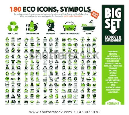 vector set of earth and air vehicle Stock photo © olllikeballoon
