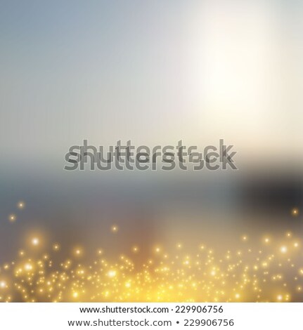 Grasses in gold light in summer time Stock photo © kawing921