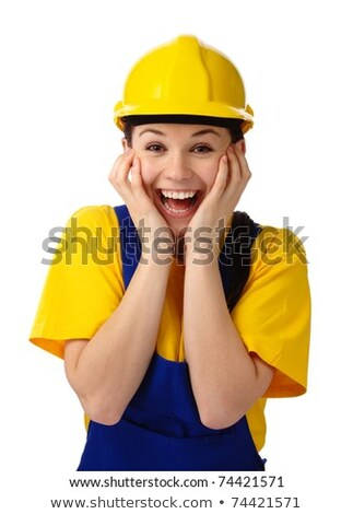 Stunning female construction worker Stock photo © photography33