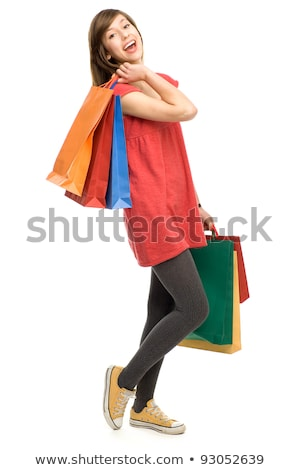 Compras adolescente Asia Foto stock © monkey_business