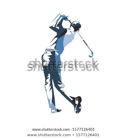 男性 ゴルファー 文字 実例 ゴルフ 幸せ ストックフォト © bluering
