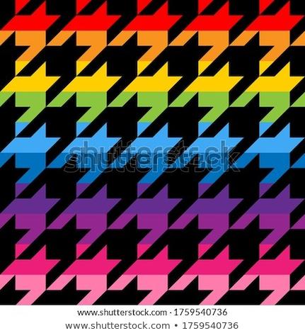 パターン デザイン 虹色 面白い 図面 ストックフォト © Zsuskaa