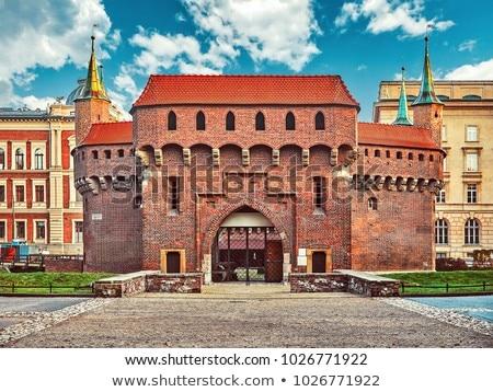 Краков Польша исторический ведущий старый город Сток-фото © borisb17