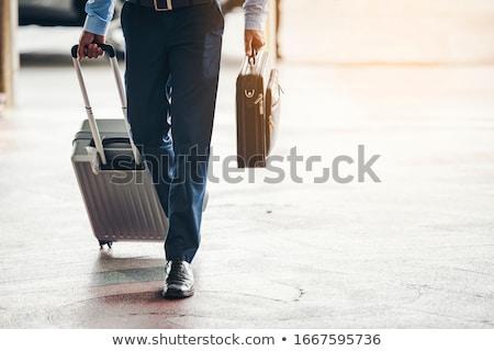Viagem de negócios homem bagagem masculino saco Foto stock © robuart