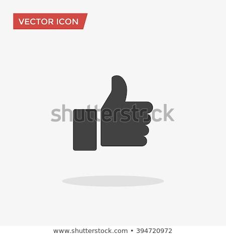 abstract like icon Stock photo © rioillustrator