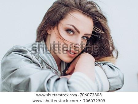 Güzellik portre zarif kadın çekici Stok fotoğraf © NeonShot