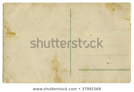 One hundred year old back postcard Stock photo © Paha_L