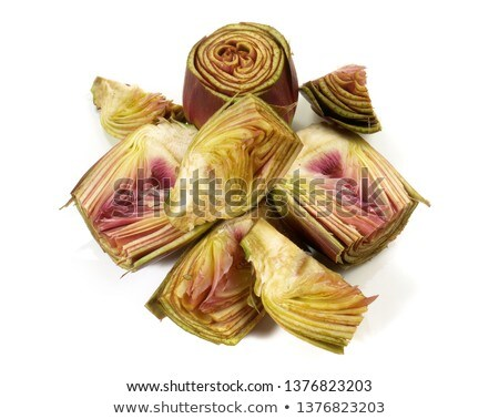 Perfect Raw Artichokes Stock photo © zhekos
