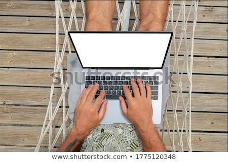 Negocios Villa reunión tecnología escrito de trabajo Foto stock © IS2
