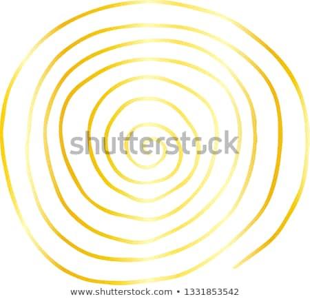 Arany durva rajz spirál minta textúra Stock fotó © Blue_daemon