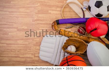 Inglês esportes futebol críquete rugby badminton Foto stock © robuart