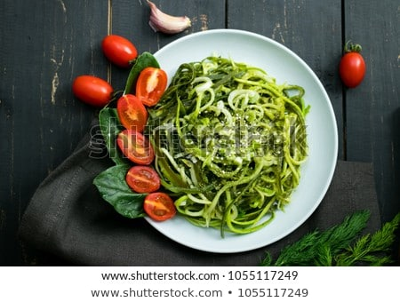 Zucchini noodles  Stock photo © tycoon