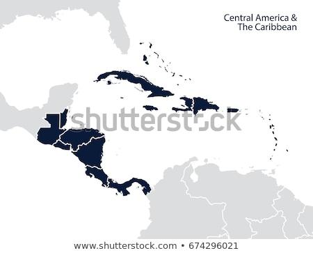 Panama Cuba Haiti Honduras Belize vettore Foto d'archivio © ConceptCafe