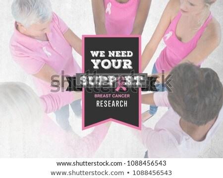 Bisogno sostegno testo consapevolezza donne Foto d'archivio © wavebreak_media