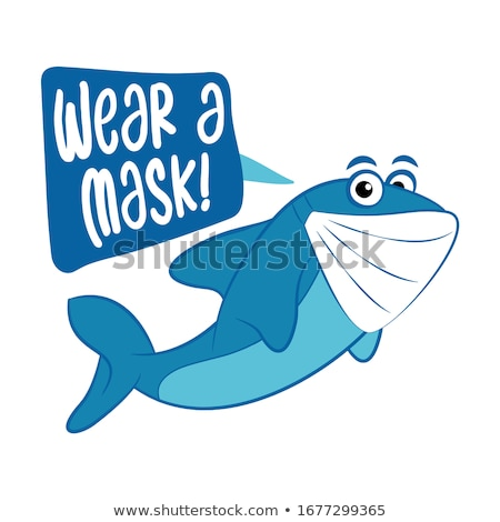 Protect yourself and others, wear a mask! - Awareness lettering phrase. Stock photo © Zsuskaa