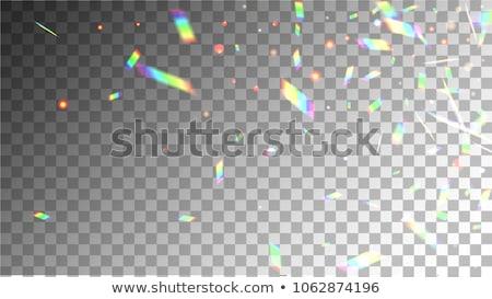 Vibrante neón bokeh luces diseno efecto Foto stock © SArts