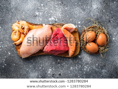 Carne animal proteína carnívoro Foto stock © furmanphoto