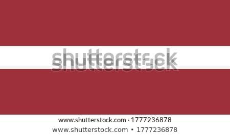 Letland vlag witte business wereld teken Stockfoto © butenkow