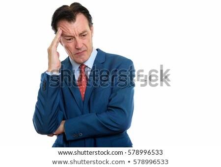 a businessman having a headache stock photo © photography33