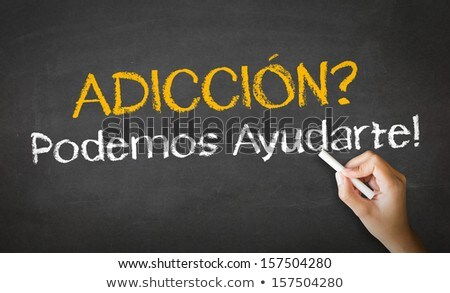 Addiction We can Help (in Spanish) Stock photo © kbuntu