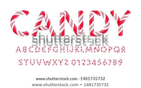 Carta blanco diseno verde grupo Foto stock © taden