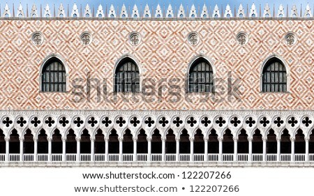 Venice, facade of the palace of the doges, the Palazzo Ducale Stock photo © meinzahn
