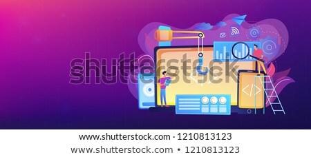 cross platform software environments vector concept metaphors stock photo © rastudio