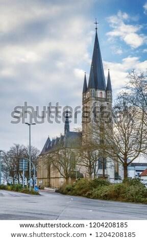 Chiesa sacro cuore Germania romana cattolico Foto d'archivio © borisb17