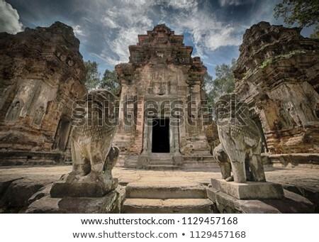 Tempel Angkor Wat Komplex Kambodscha Sommer Tag Stock foto © bloodua