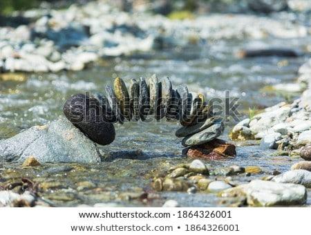 balanced stones Stock photo © pterwort