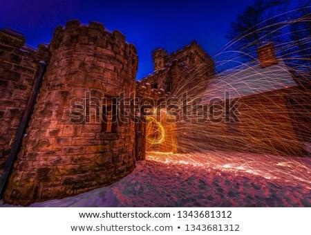 Squire's Castle Stock photo © benkrut