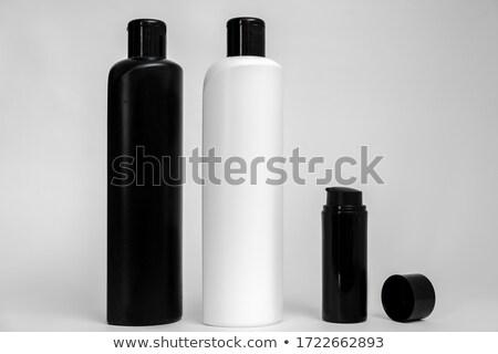 nero · shampoo · bottiglia · medici · corpo · vetro - foto d'archivio © shutswis
