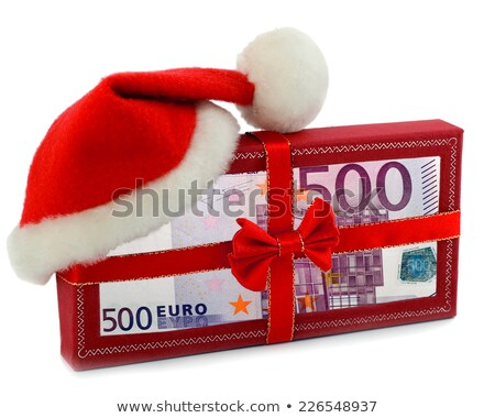 euro notes with christmas balls on it stock photo © fotoscool