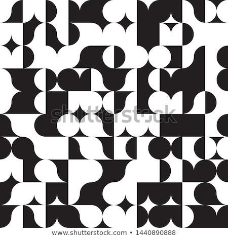Op Art Curvy Pattern Photo stock © Supertrooper