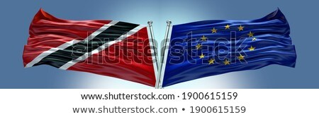 European Union and Trinidad and Tobago Flags Stock photo © Istanbul2009