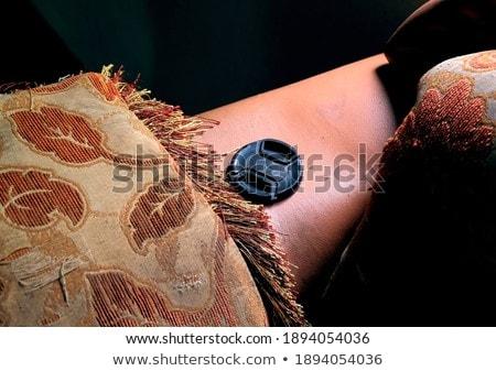 Yüz objektif stüdyo portre poz Stok fotoğraf © filipw