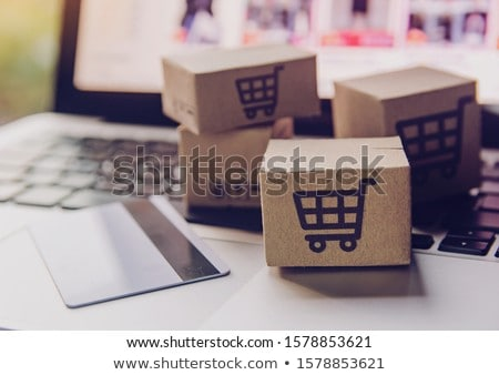 online shopping concept stock photo © boggy