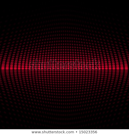 abstract red and black halftone swirl pattern background Stock photo © SArts