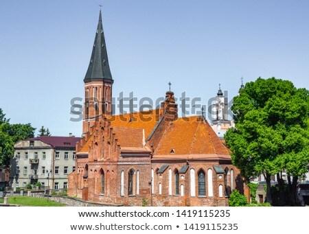 Igreja Lituânia romano católico cidade velha Foto stock © borisb17