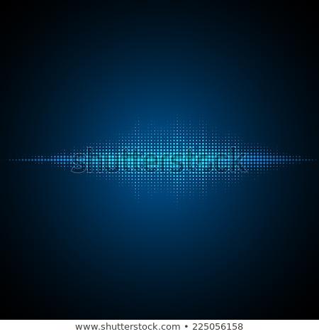 Suono blu tecnologia stile design Foto d'archivio © SArts