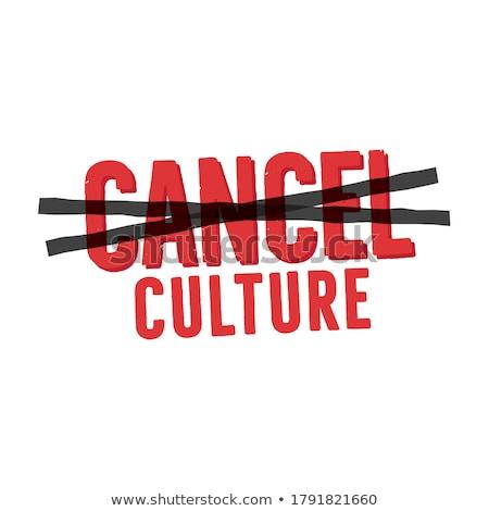 Cancel culture abstract concept vector illustration. Stock photo © RAStudio