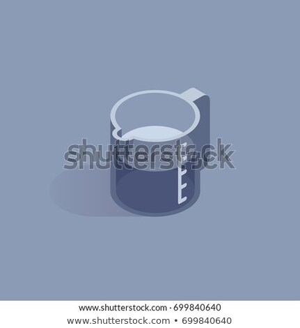 Кубок изометрический икона вектора знак Сток-фото © pikepicture