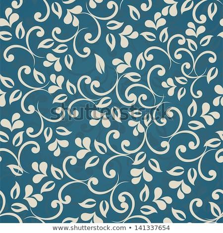 бесшовный · вектора · шаблон · синий · текстуры - Сток-фото © absenta